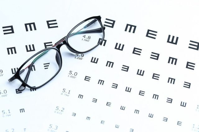 таблиця офтальмолога