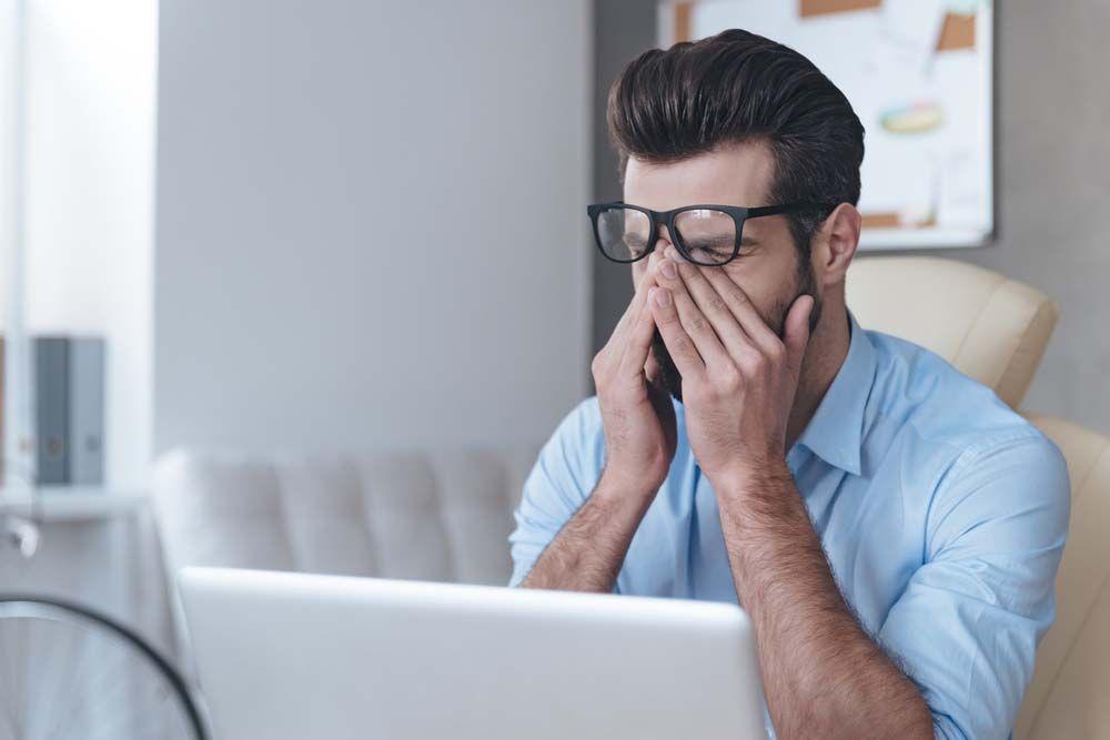 Втома і погіршення зору за комп'ютером