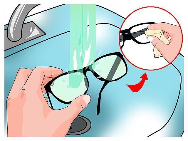 як доглядати за окулярами правильно