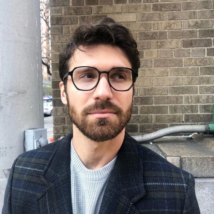 геометричні окуляри чоловічі