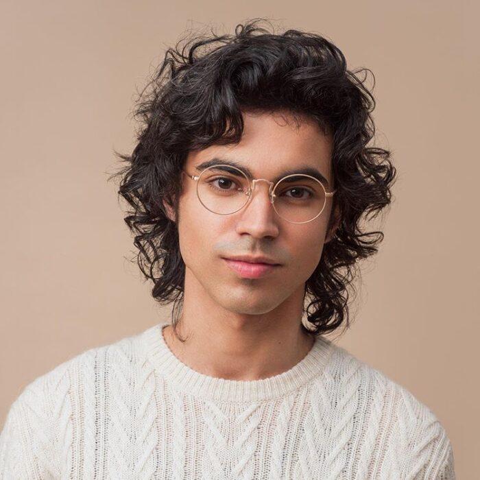 круглі чоловічі окуляри