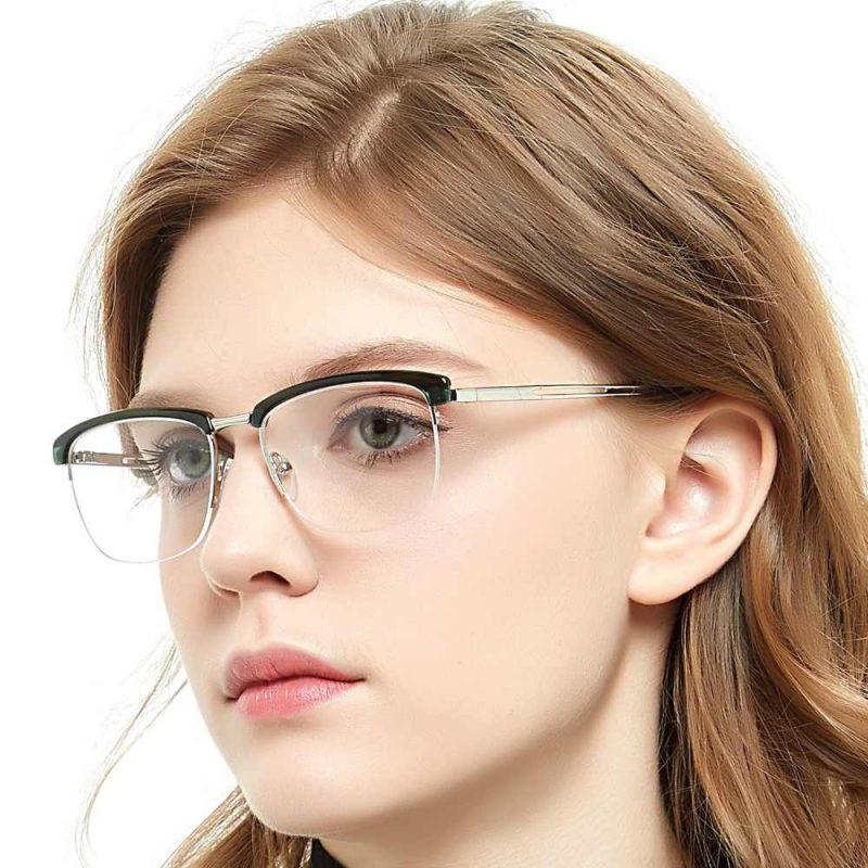 напівобідкові окуляри
