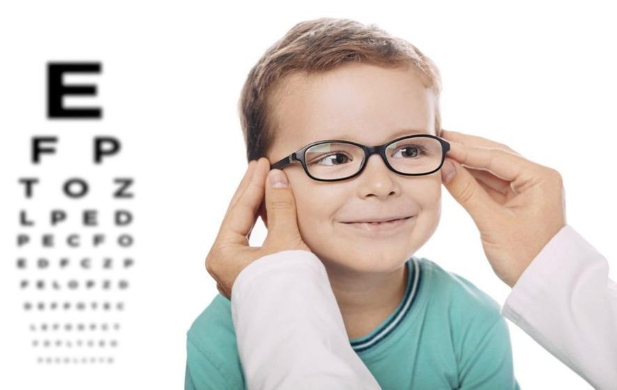 як привчити дитину носити окуляри