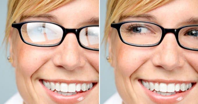 антирефлексні окуляри