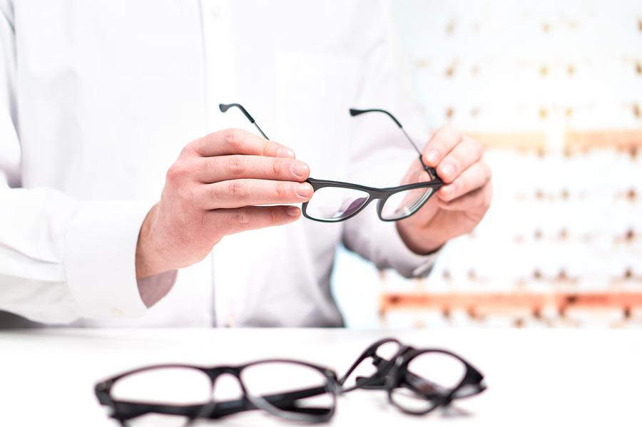 окуляри з монофокальними лінзами