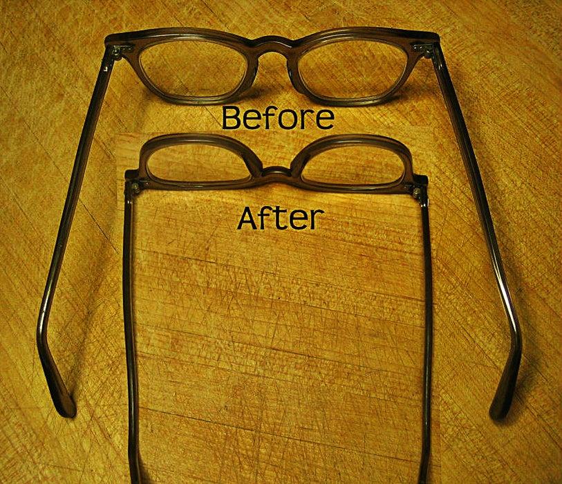 розтягнулись окуляри