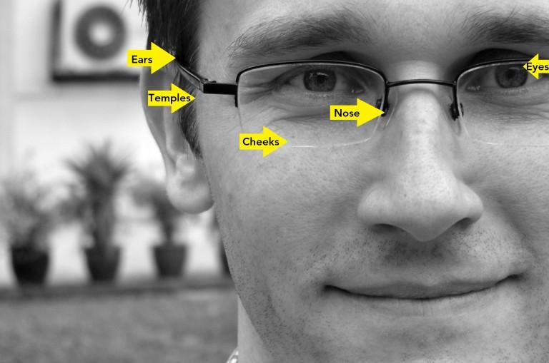 посадка окулярів